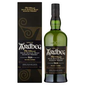 Ardbeg 10 Year Old 70cl. Malt Whisky at Morrisons for £37