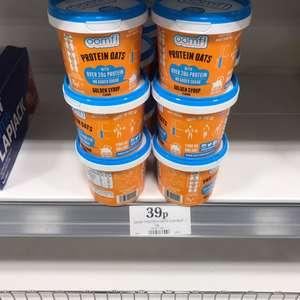 Oomf Protein Oats 75g Golden Syrup / Banana @ Home Bargains for 39p