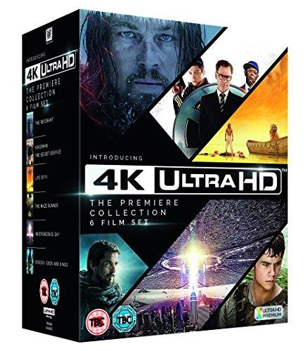 4k UHD Premiere 6 film collection £51.96 @ amazon