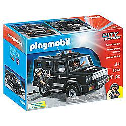 Playmobil 5674 Tactical Unit Police Car - TESCO Direct - HALF PRICE