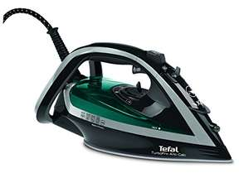 Tefal FV5640 Turbo Pro Anti-Scale Steam Iron, 2600 W, Dark Grey/Turquoise/Silver - was £59.99 now £45 @ Amazon