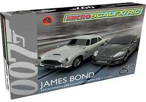 G1122 - Micro Scalextric James Bond. From the Official Argos Shop on ebay £19.99 Free p&p