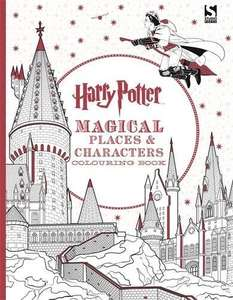 Harry Potter Magical Places and Characters Colouring Book £2.80 @ Amazon with Prime / £5.79 non-Prime