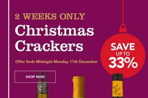 Up to 33% off wines at Majestic Wine + £20 off £60 first order