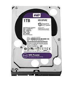Western Digital Purple 1 TB Serial ATA Internal Hard Drive Surveillance Systems @ Amazon