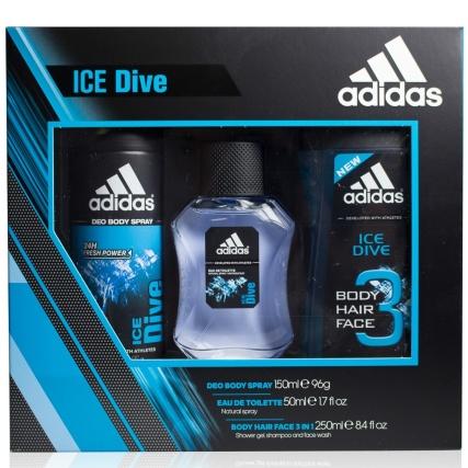 Adidas Ice Dive Trio Gift Set ... NOW £3.99 @ B&M