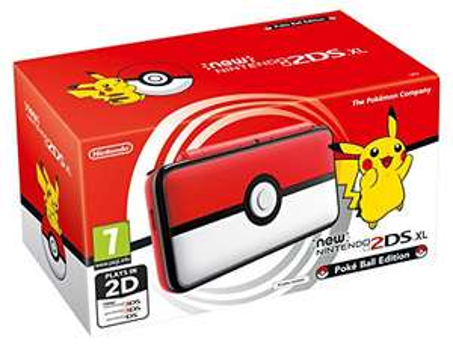 Nintendo 2DS XL, Poké Ball Edition £129.99 @ Amazon