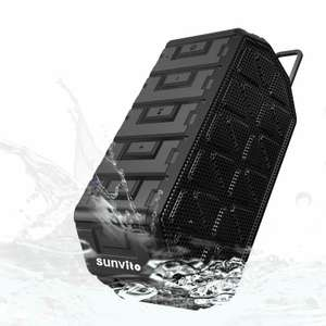 Sunvito splash proof bluetooth speaker £3.99  (Prime) / £7.98 (non Prime) Sold by SunvitoDirect and Fulfilled by Amazon.