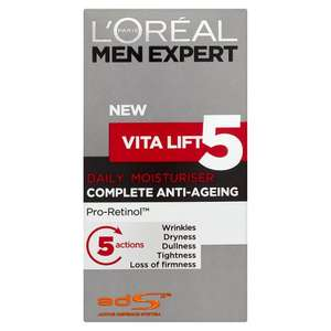 L'Oreal Men Expert Vita Lift 5 Moisturiser 50Ml - £5 at Tesco
