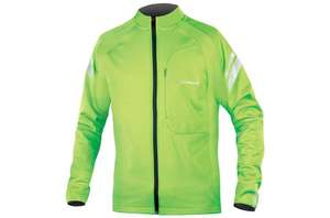 Endura Windchill II Jacket Green High Viz reduced to £26.99 from £89,99 Evans Cycles