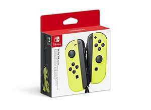 Yellow Joy Con controllers for Nintendo Switch £64.99 Amazon