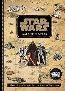 Star Wars: Galactic Atlas  Hardcover £7.50 (Prime) / £10.49 (non Prime) at Amazon