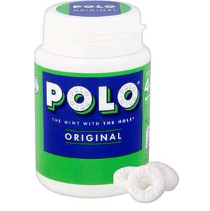 Polo mints original pot 66g - £1 at Tesco