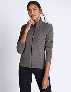 £15 M&S fleece for £5 with Sparks card holders £10 off womens Coats and Jackets