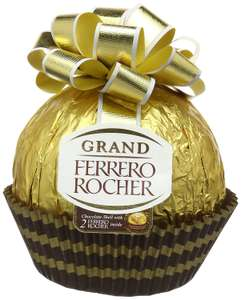Ferrero Grand Rocher Chocolate (Big One with two inside) - 125 g x 8 Chocolate Packs =  1KG - £15.51 Prime - £20.34 non Prime (RRP £45.04) @ Amazon