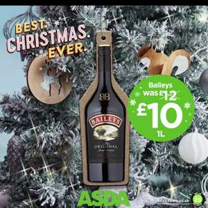 1l baileys £10 this weekend only at Asda