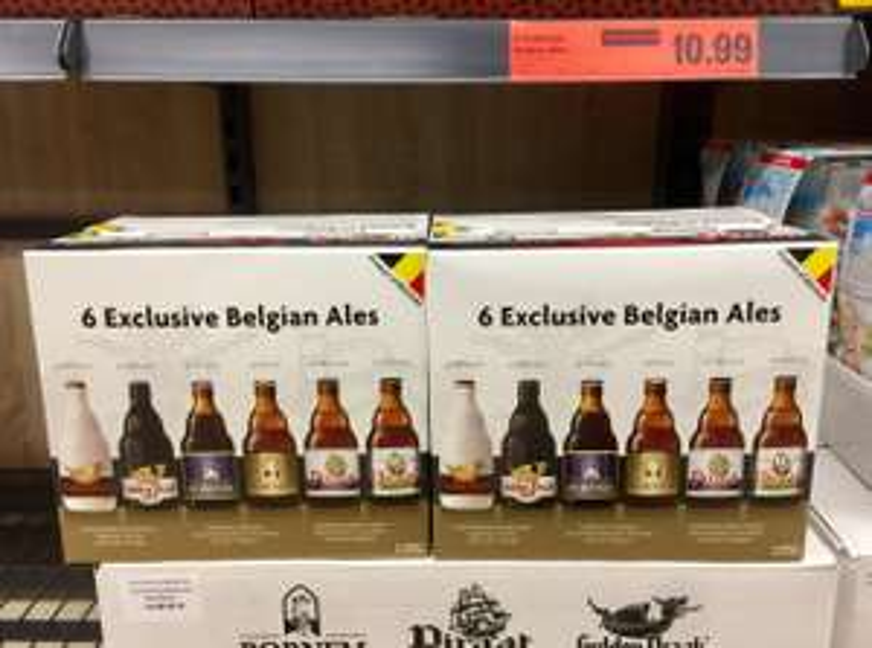 Lidl | 6 Exclusive Belgian Beers | £10.99
