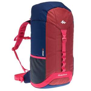 QUECHUA Arpenaz 40 Litres Backpack-Blue/Red/Pink for £3.99 plus free collect @ Decathlon