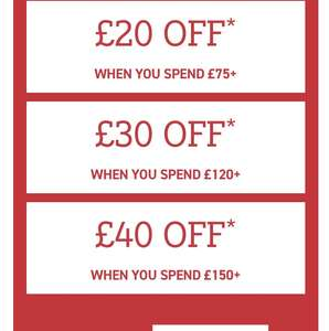 Buyagift discount up to £40 off deals