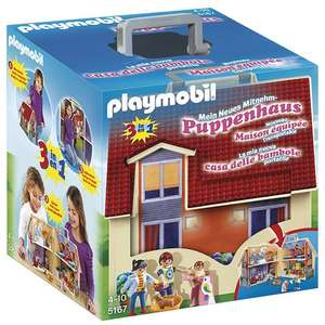 Playmobil 5167 Take Along Modern Dolls House at Amazon for £22.49