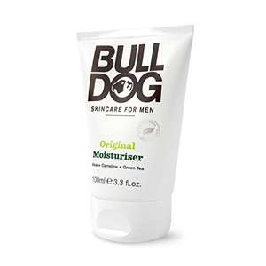 Bulldog Original Moisturiser 100ml £2.66 Amazon - add on item