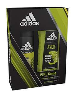 Adidas Pure Game & Ice Dive Body Spray and Shower Gel Duo Gift Set £2.25 @ amazon - Prime Exclusive