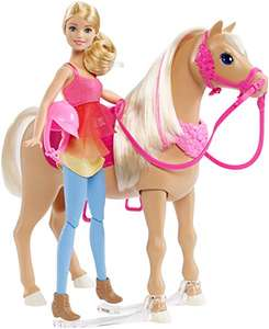 Barbie Dancing Fun Horse (Doll & Horse rrp £49.99) £18.15 Prime / £22.14 Non Prime @ Amazon