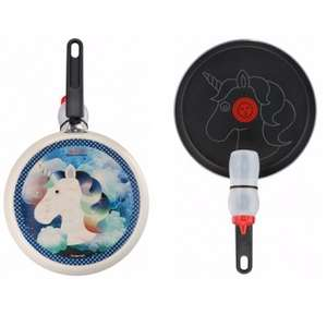 Tefal Non-stick Unicorn 25cm Pancake Pan Bundle £15 C+C @ Asda George (also Owl)