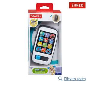 Fisher-price laugh and learn smart phone -Argos - £5.50