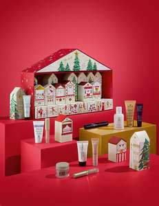 M&S Beauty Advent Calendar £35 with no further spend required