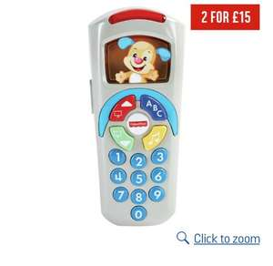 Fisher-price laugh and learn puppy's remote - £5.50 @ Argos
