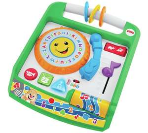 Fisher-Price Laugh & Learn Remix Record Player was £27 now £14 C+C @ Argos (£20-£27 elsewhere) - more Baby Gift ideas in OP eg Fisher-Price Laugh & Learn Counting with Puppy Book was £10.99 now £5.50