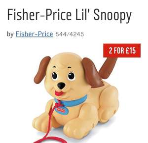 Fisher-price lil snoopy - £5.50 @ Argos