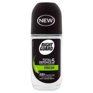 Right Guard Male Total Defence 5 Fresh Roll-on 50ml for 73p @ Superdrug