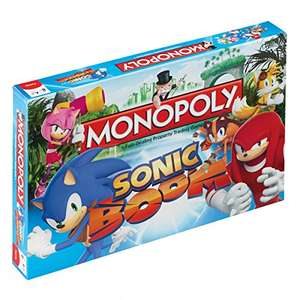 Winning Moves Sonic Boom Monopoly £13.00 (Prime) / £17.75 (non Prime) Sold by Kurapati Retail UK and Fulfilled by Amazon.