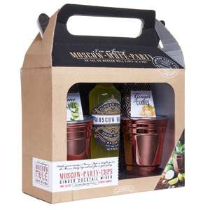 Moscow Mule Party Twin Pack and Mixers - Now £5 / Moscow Mule Party Cup and Mixer now £3 @ Wilko