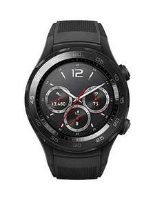Huawei Watch 2 Bluetooth Sport Smartwatch for Android & IOS - Black - for those with no cash left after so many impulse BF|CW purchases! - £175 @ Very