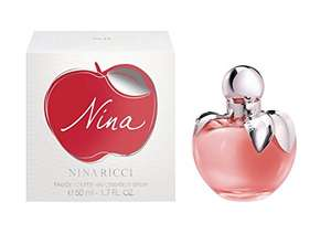 Nina Ricci Nina Eau de Toilette - 50 mlnina £24.68 Sold by PerfumeShopping and Fulfilled by Amazon.