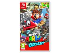 Super Mario Odyssey Nintendo Switch @ BT.Shop £39.99 Delivered