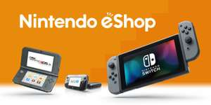 £5 off a £20 spend on Nintendo eShop when using Paypal!