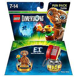 LEGO Dimensions E.T. The Extra-Terrestrial Fun Pack £6 C+C @ Tesco (more in op)