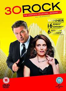 30 Rock Complete Series 1-7 DVD at Zavvi for £13.99 (£12.59 with code)