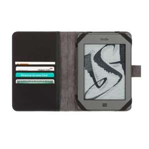 Griffin Kindle Case Small Elan Passport - Black/Blue/Red - £12.86 - Memory Bits