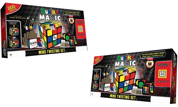 Rubik's Cube Magic Mind Twisting Set - £18.98 + £1.99 Delivery = £20.97 Delivered @ Groupon