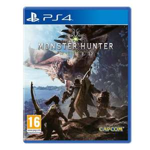 Monster Hunter World PS4 @ Smyths If You Pre Order And Collect In Store - £38.99