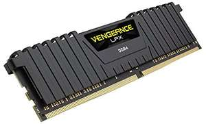 Corsair Vengeance LPX 16GB (4x4GB) DDR4 3200Mhz Amazon.fr - £147