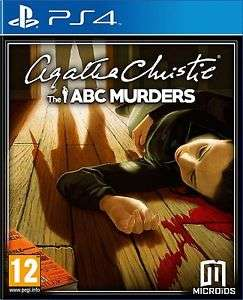 Agatha Christie: The ABC Murders PS4 £11.99 @ ebay sold by dvdbayuk_outlet