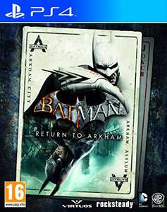 Batman: Return to Arkham (PS4) £12.00 (Prime) / £13.99 (non Prime) at Amazon