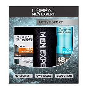 L'Oreal Men Expert Active Sport 3-Piece Gift Set  £3.75 Amazon ( Add on Item )