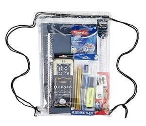 Branded Stationery essentials in a bag £9 (RRP of £25) @ Tesco Direct (free c+c)